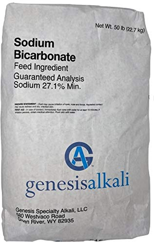 Organic Baking Soda Bicarbonate of Soda 50lb Bag