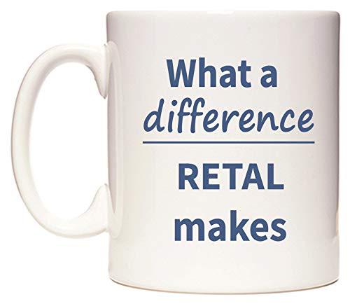 What a difference RETAL makes Taza por WeDoMugs®