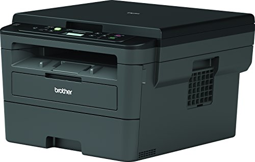 Brother dcpl2530dw - WiFi-Monochrom-Laser-Multifunktionsdrucker mit Druck (30 ppm Duplex, USB 2.0, WiFi Direct, 600-MHz-Prozessor, 64 MB Speicher) Grau