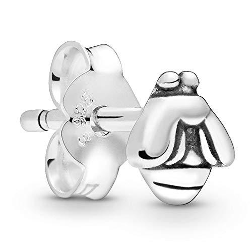 Pandora Pendientes de botón Plata esterlina No aplicable - 298541C00