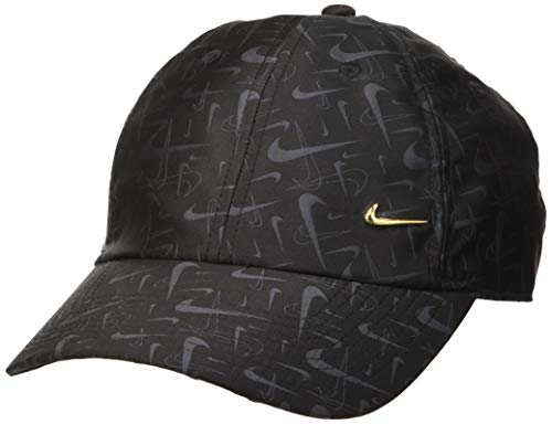 Nike Herren NSW H86 Swoosh Kappe Mütze, Black, One size