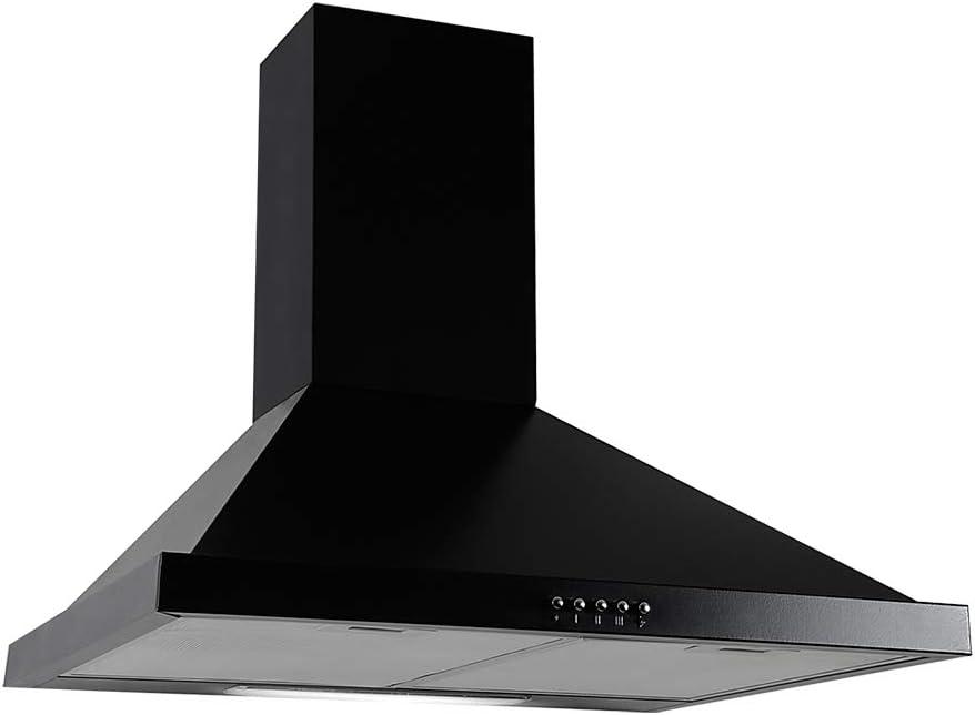 LINKEN LKDM60B Hotte, negro, 60 cm