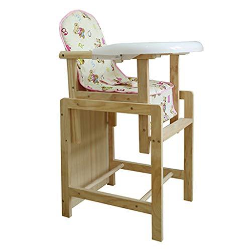 Chaise de bébé de sécurité, Chaise Haute Ergonomique, Multifonction Pliable Chaise de bébé avec Ceinture, Facile à Nettoyer, Poids de roulement 30kg
