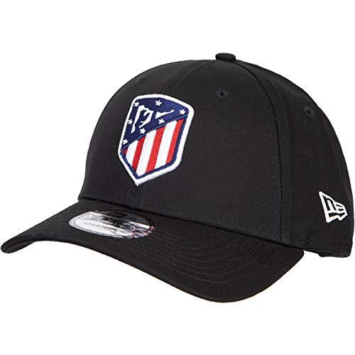 New Era 9forty Atlético Madrid Essential Cap (one Size, Black)