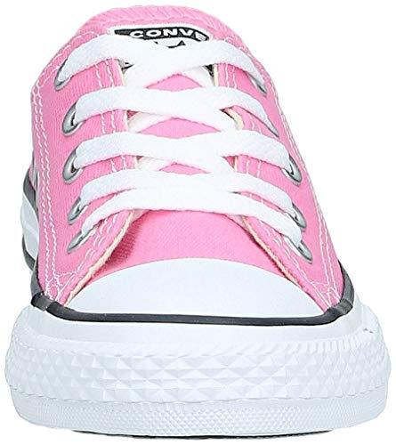 Converse Chuck Taylor All Star Low Top, Zapatillas Unisex niños, Rosa Pink, 27 EU