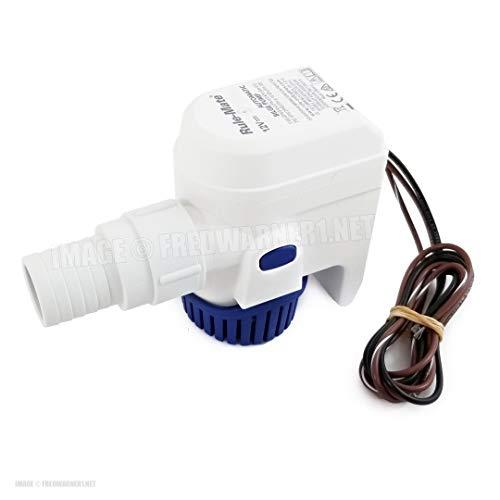 Jabsco Rule-Mate - Pompa di sentina completamente automatizzata, 12 V