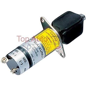 1504-12A6U1B1S1 12V fuel stop solénoïde fit for woodward 1504-12A6U1B1S1 solénoïde