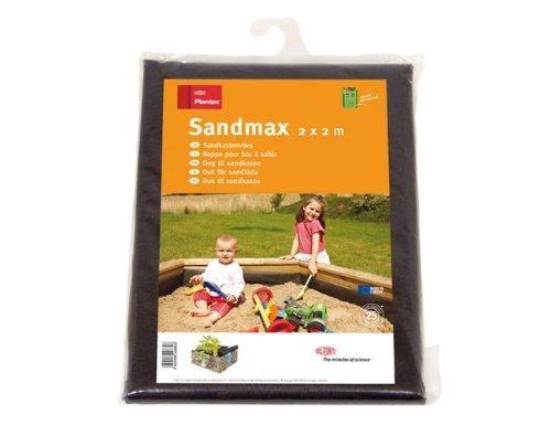 Plantex 4230751 bac à Sable Polaire sandmax, 2 x 2 m