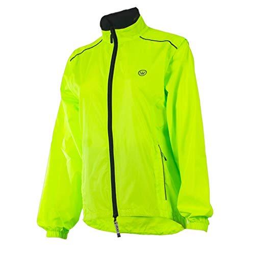 CANARI Women's Tour Cycling/Biking Jacket, Killer Yellow, X-Large