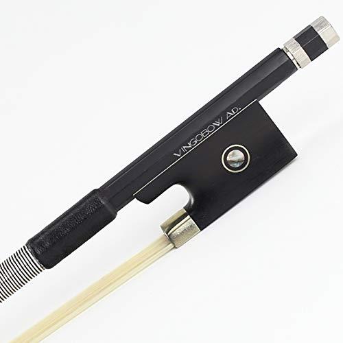 VINGOBOW 4/4 BRAND NEW Carbon Fiber Violin Bow, Art No.100V