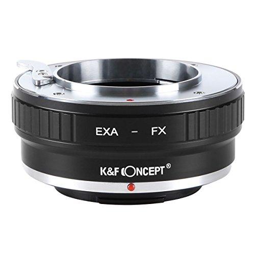 K&F Concept EXA-FX Objektivadapter Objektiv Adapterring für EXAKTA Spiegelreflex Objektiv auf Fujifilm X-Mount Bajonett Systemkamera(Fuji Finepix X-T1,X-E2,X-E1,X-A1,X-M1,X-Pro1)