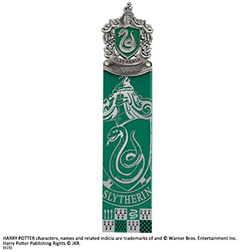 The Noble Collection Slytherin Lesezeichen
