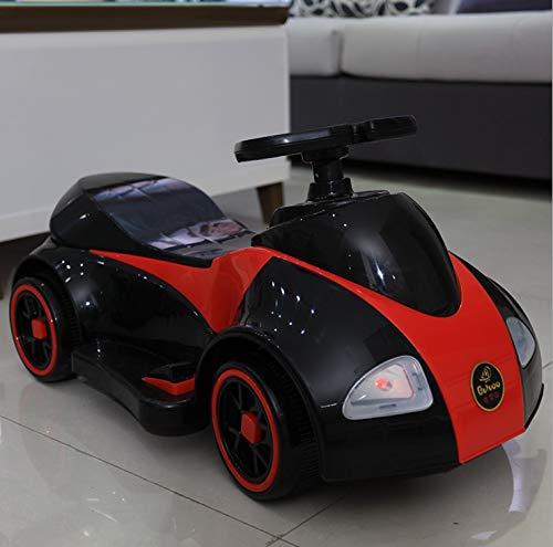 Woodtree Coche eléctrico de los niños, Motocicleta conducción Patinaje sobre Cuatro niños...
