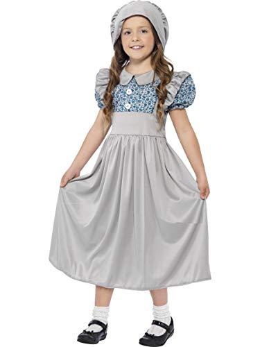Smiffys Victorian School Girl Costume,10-12 Years (Large)