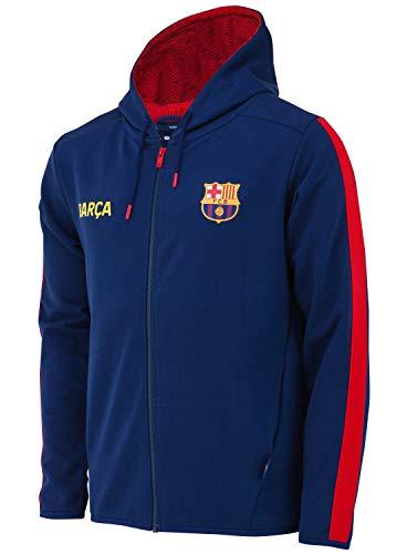 Fc Barcelone Kapuzensweatshirt Barca - Offizielle Sammlung Herrengröße größe L