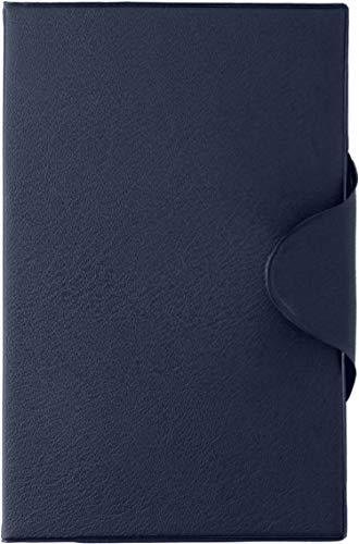 スリップオン 日本製 お薬手帳 母子手帳(Sサイズ・A6) マルチ ケース SPM PVC ブルー SPM-1801
