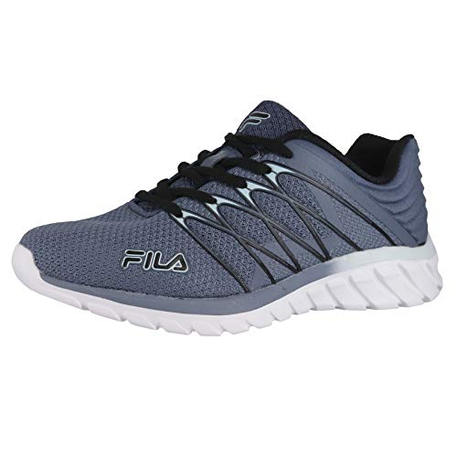 Fila Memory Shadow Sprinter 4 Gray/Black/Plein Air Womens Athletic Shoe Size 9.5M