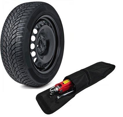 17' FULL SIZE STEEL SPARE WHEEL AND 215/60R17 TYRE + TOOL KIT COMPATIBLE WITH QASHQAI (2007-PRESENT...