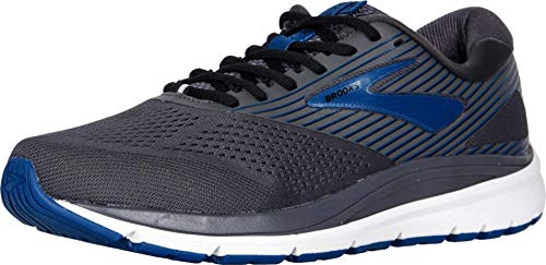 Brooks Herren Addiction 14 Laufschuhe, Schwarz (Blackened Pearl/Blue/Black 028), 43 EU