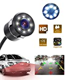 Generic Car Rear View Reverse Parking Camera with HD Night Vision 8 LED Waterproof 170 Degree Wide...