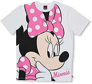 BABYDOLL(ベビードール)通販限定カラーあり 親子お揃い ディズニー BIGフェイスTシャツ 3740A L ミニー