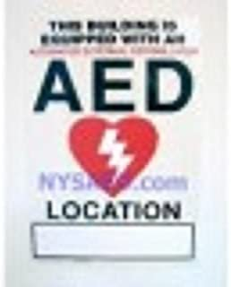 Static AED Window Sign - 8