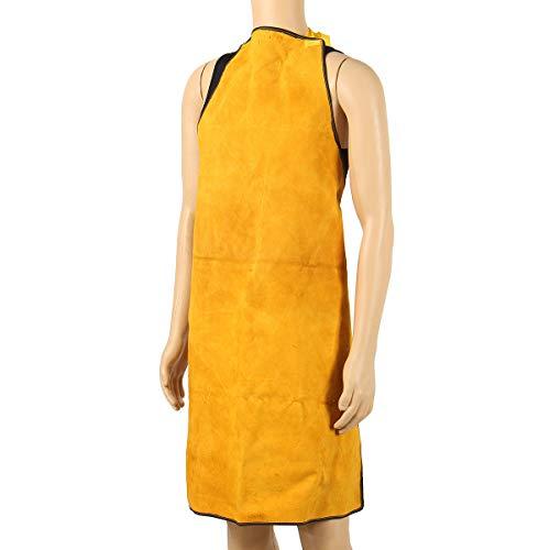 MJJEsports lassen schorten beschermende kleding thermische bescherming werkkleding leer 100X70CM, 3, 1