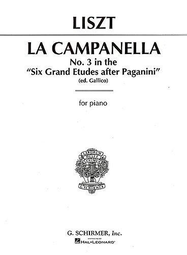 La Campanella: pour piano