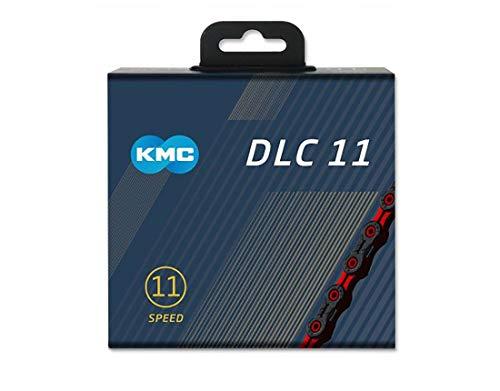 KMC X11 DLC チェーン 11S/11速/11スピード 用 (レッド) [並行輸入品]