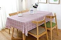 BKPHテーブルクロス北欧テーブルクロスPVC長方形防水、防油、防塵テーブルクロス屋内および屋外のキッチンピクニックテーブル装飾用-C-70x80cm