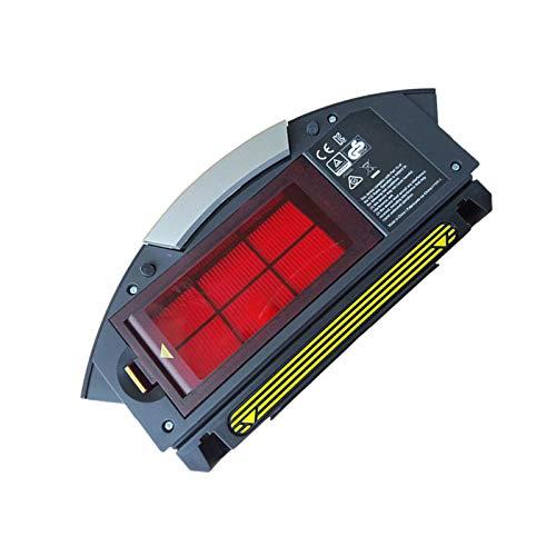 LICHIFIT Caja de Recogida de Polvo con Filtro Hepa para aspiradora iRobot Roomba 800 900 Series 870 860 880 960 Robot