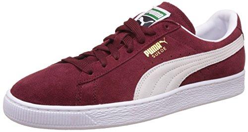 PUMA Suede Classic+, Sneaker Uomo, Rosso (Cabernet-White), 44 EU