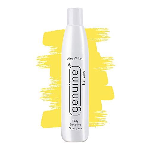 Easy Sensitive Shampoo mildes pH-neutrales Feuchtigkeitsshampoo für alle Haartypen, beruhigt Kopfhaut, verleiht Elastizität, Fülle und Glanz, genuine haircare