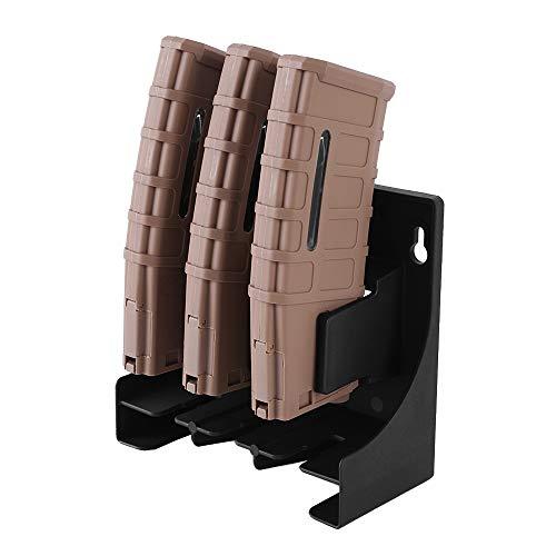 MiOYOOW Estuche para revistas, Funda táctica para revistas Escopeta Rifle munición Culata Soporte para Carcasa