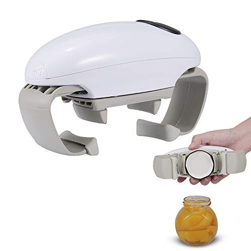 Godyluck Apriscatole elettrico One Touch Apriscatole Twist Apriscatole automatico Grip Mani Libero Strumento di Apertura Bottiglia Strumenti Cucina Gadget