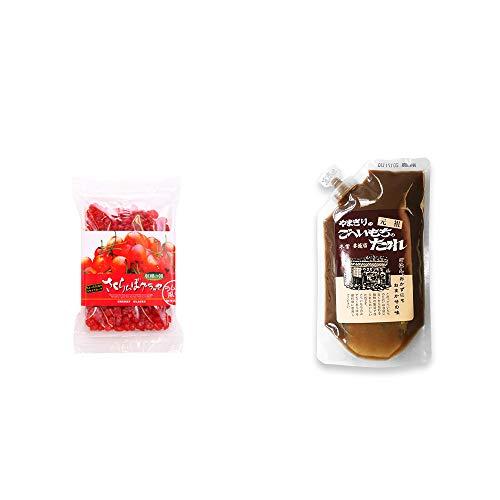 [2点セット] 収穫の朝 さくらんぼグラッセ ラム酒風味(180g)・妻籠宿 やまぎり食堂 ごへい餅のたれ(250g)