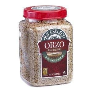 Riceselect Orzo, Whole Wheat 26.5 oz. (Pack of 4)