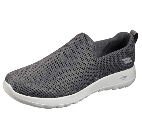 Skechers Men's Go Walk Max-Athletic Air Mesh Slip on Walkking Shoe Sneaker,Charcoal,9 M US