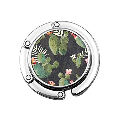 TAIBAO Bolso de mano vintage con diseño de cactus Folle