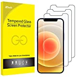 JEDirect iPhone12 / iPhone12 Pro (6.1インチ専用) 強化ガラス 液晶保護フィルム 3枚セット