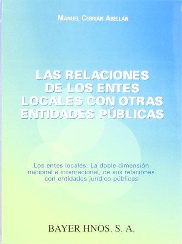 Las relaciones de los entes locales con otras entidades publicas