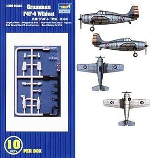 Grumman F4F-4 Wildcat 10 Pack 1-350 by Trumpeter by Trumpeter