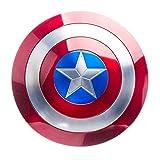 Captain America Shield,Film Collector Edition Tutta La Produzione di Leghe di Alluminio 1:1 Decorazione Murale Scudo Avengers Marvel di Captain America Metal Shield