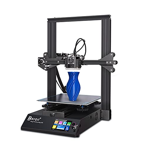 BIQU B1 FDM 3D Drucker mit 32Bit Silent-Mainboard, 3.5' Vollfarb Dualsystem Touch-Bildschirm und grosser Druckraum von 235x235x270mm