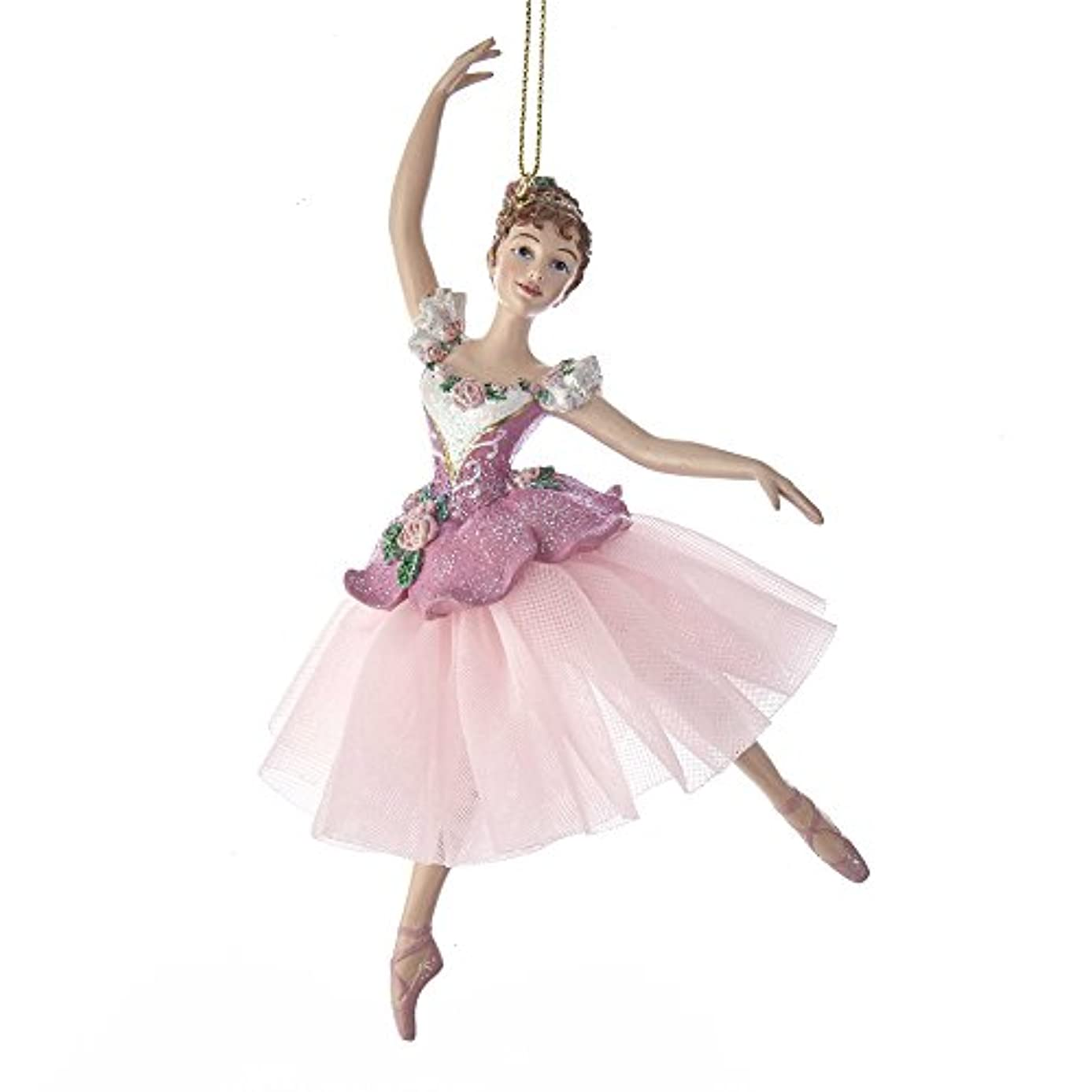 Kurt Adler Waltz Of Flowers Ballerina Ornament