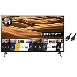 LG 55UM7100PLB 55 Inch UHD 4K HDR Smart LED TV with Amazon Basic HDMI cable (B07W81BYCP) | Amazon price tracker / tracking, Amazon price history charts, Amazon price watches, Amazon price drop alerts