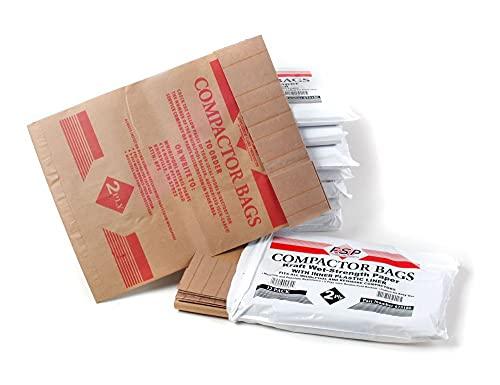 ForeverPRO 675186BULK Trash Compactor Bags 96 Pak for Whirlpool Trash Compactor 125 14210236 675264 675350