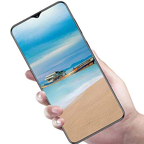 YuanYang hotpot Unlocked Cell Phones Android 6.0 2GB+16GB M90 Plus 19:9 Face ID 4G Smartphones HD Water Drop Screen Cell Phone (Black, 2+16GB 6.7 inch)