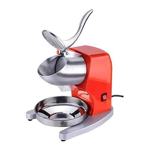 Adesign Ice Shaver Maschine Elektrische Wassereis-Hersteller Edelstahl rasierte EIS-Maschine for Haus und gewerbliche Nutzung geeignet for Restaurants, Bars, Cafeterias