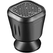 Bluetooth Speaker,DIGOO IPX7 Water Resistant Bluetooth 4.2 Shower Speaker,Handsfree Portable Speakerphone with Built-in Mic,10hrs of playtime and Dedicated Suction Cup for Shower,Bathroom,Pool, Boat